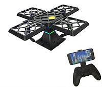 Квадрокоптер - куб Drone Black Knight Cube 414 портативный с WiFi камерой