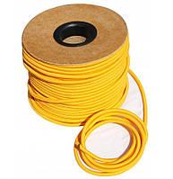 Эспандер эластичный шнур 8мм цвет-жёлтый (Польша) для баннера фитнеса спорта тренировок