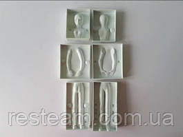 Форма кондитерская (молд) пластмас. Женщина VT6-17107