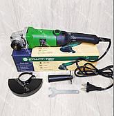 Болгарка з регулюванням обертів Craft-Tec PXAG-225E 125/1200 + стійка для болгарки, фото 3