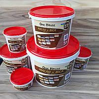 Масло-воск для дерева, цвет Оливковый, 1 л