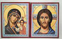 Пара венчальная с Казанской иконой Божьей Матери, фото 1