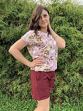 Летний легкий молодежный костюм размеры  44-46,48-50,52-54, фото 3