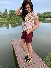 Летний легкий молодежный костюм размеры  44-46,48-50,52-54, фото 2