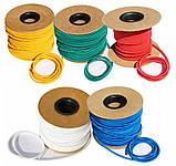 Резиновый шнур жгут для крепления и натяжки тента, на прицеп, кузов 6мм, фото 4