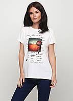 Стильная брендовая женская футболка от C&A, Германия, размер S-М