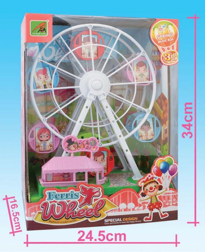 Детский набор колесо обозрения с музыкой