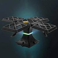 Квадрокоптер - куб Drone Black Knight Cube портативный