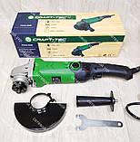 Болгарка с регулировкой оборотов Craft-Tec PXAG-225E 125/1200 + стойка для болгарки, фото 6