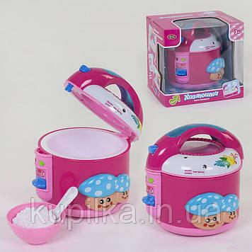 """Детская мультиварка """"Хозяюшка"""" 2159 Play Smart с световыми и звуковыми эффект., пускает холодный пар, розовая"""