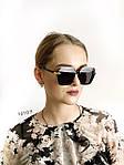 Трендовые черные солнцезащитные очки, фото 3