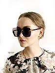 Трендовые черные солнцезащитные очки, фото 2