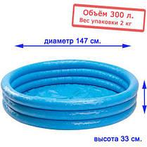 Детский надувной бассейн круглой формы  Intex 58426, фото 2