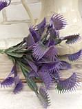 Мухоловка фіолетова, висота гілки 32 см, 40\35 (ціна за 1 шт. + 5 гр.), фото 3