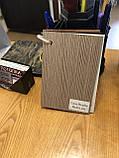 Двери межкомнатные Омис Нота экошпон остекленная, цвет сосна мадейра, фото 4