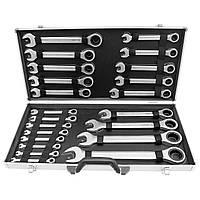 Набор гаечных ключей с трещоткой 6-32 (22 предмета) от HASKYY®