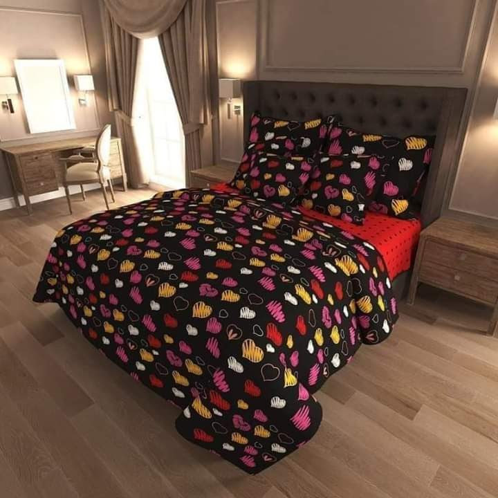 Милое постельное белье Амстердам, евро размер. Бязь Gold
