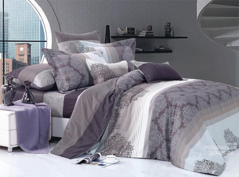 Красивое постельное белье, двуспальное, Карандаш. Бязь Gold