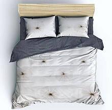 Милый двуспальный комплект постельного белья, в приятном цвете. Бязь Gold