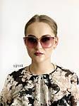 Стильные солнцезащитные очки розово-серые, фото 2