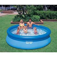 Бассейн Intex Easy Set с надувным верхом 3853л  305х76 см