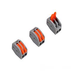 Коннектор на два контакти (400В, 32А) самозитискний