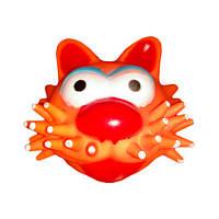Игрушка для собак Мяч-кот 9 см DE011