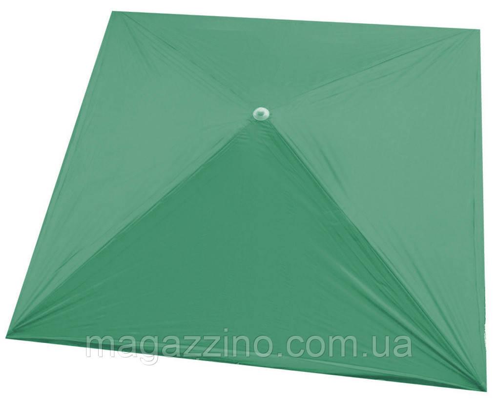 Зонт квадратный, Зеленый, 2 х 2 м.