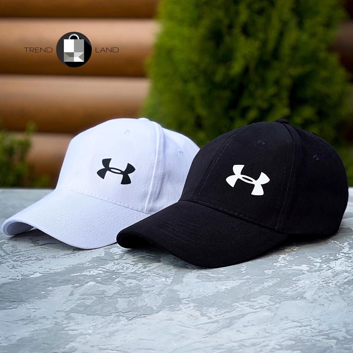 Кепка в стиле Under Armour 2 Black&White 2 цвета в наличии