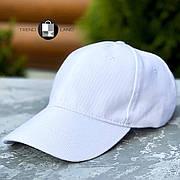 Качественная универсальная кепка White белая