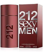 Мужские духи Carolina Herrera 212 SEXY Men 100 ml(мужские духи 212 Секси Мен)