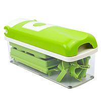 Овощерезка Nicer Dicer Plus Зеленый с белым hubnp21049, КОД: 666869