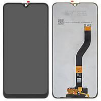 Дисплей для Samsung A107 Galaxy A10s, черный, с сенсорным экраном, с регулировкой яркости, Best copy, Сopy