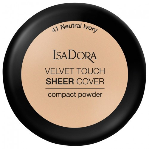 Пудра для лица Isadora Velvet Touch Sheer Cover Compact Powder 41 Neutral Ivory