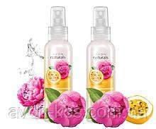 Лосьйон - спрей для тіла «Спокуслива маракуйя і піон» - Avon Naturals - Комплект 2 шт
