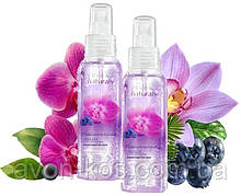 Лосьйон - спрей для тіла «Чарівна орхідея і лохина» - Avon Naturals - Комплект 2 шт
