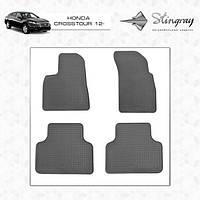 Honda Crosstour 2012-2020 резиновые коврики Stingray Premium