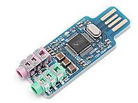 Внешняя звуковая карта CM108 USB