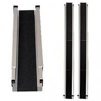 Складной алюминиевый пандус для инвалидных колясок (212 см), JBS317