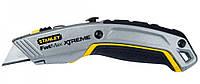 Нож STANLEY FatMax Pro XL с двумя трапециевидными лезвиями 180 мм (0-10-789)