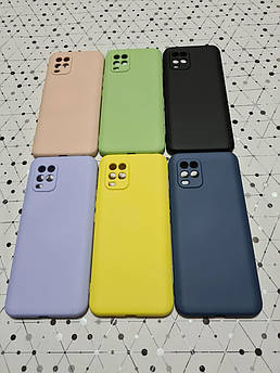 Силиконовый Soft-touch чехол накладка My Colors для Xiaomi (Ксиоми) Mi 10 Lite