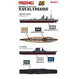 Набор красок для сборных моделей кораблей. Американские и Британские ВМС. AK-INTERACTIVE MC811, фото 2