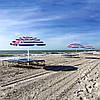 Пляжный зонт с регулируемой высотой и наклоном Springos 180 см BU0012, фото 4