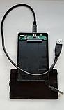 """USB 2.0 внешний карман кейс флешка для 2.5"""" SATA HDD SSD, фото 2"""