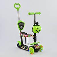 """Самокат Best Scooter 5 в 1 """"Абстракция"""" 33650 подсветка колес, фото 1"""