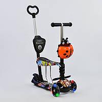 """Самокат Best Scooter 5 в 1 """"Абстракция"""" 15600 подсветка колес, фото 1"""
