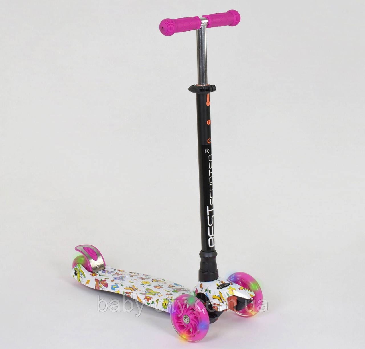 Самокат-кикборд Best Scooter Maxi А 24652 /779-1396