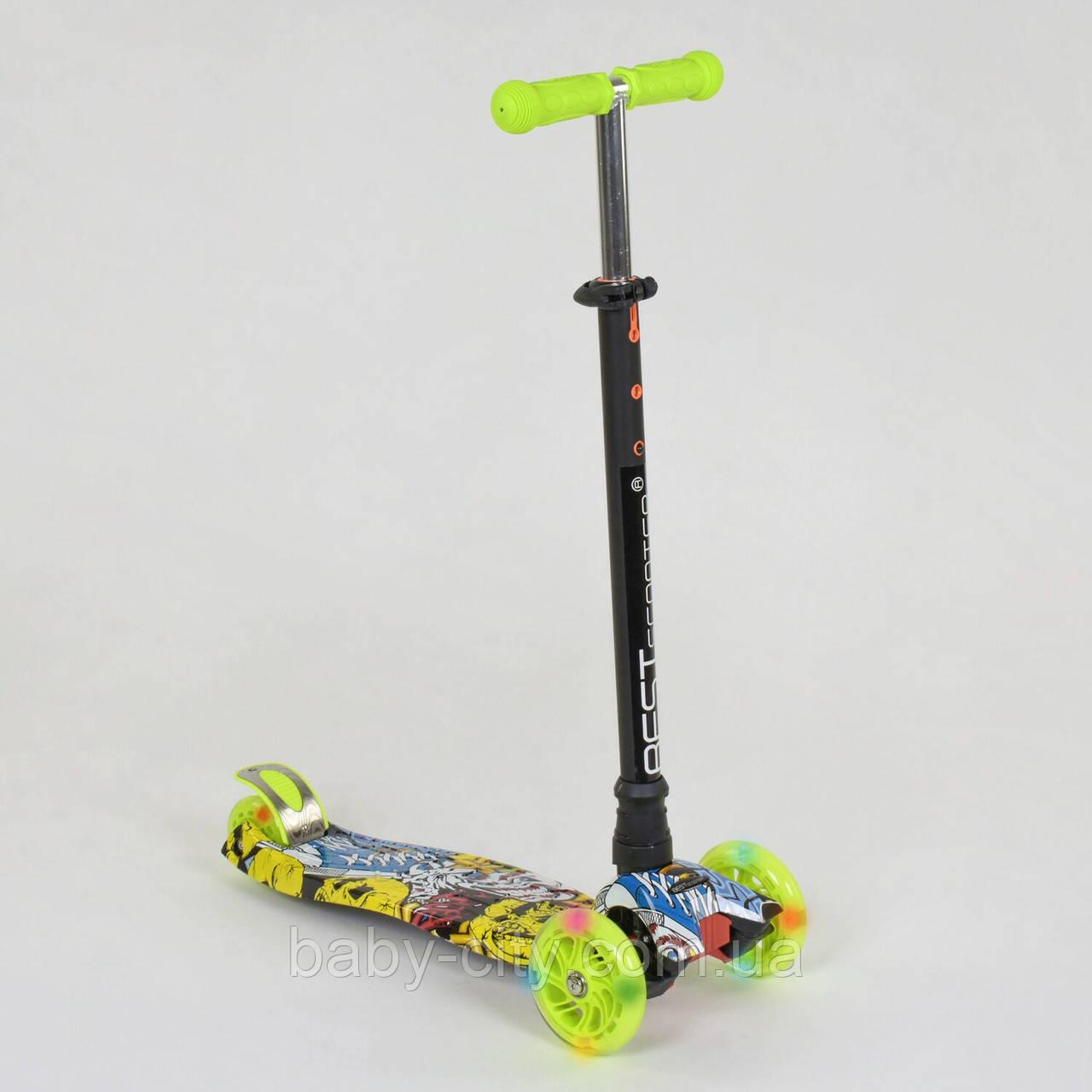 Самокат-кикборд Best Scooter А 24649 /779-1393
