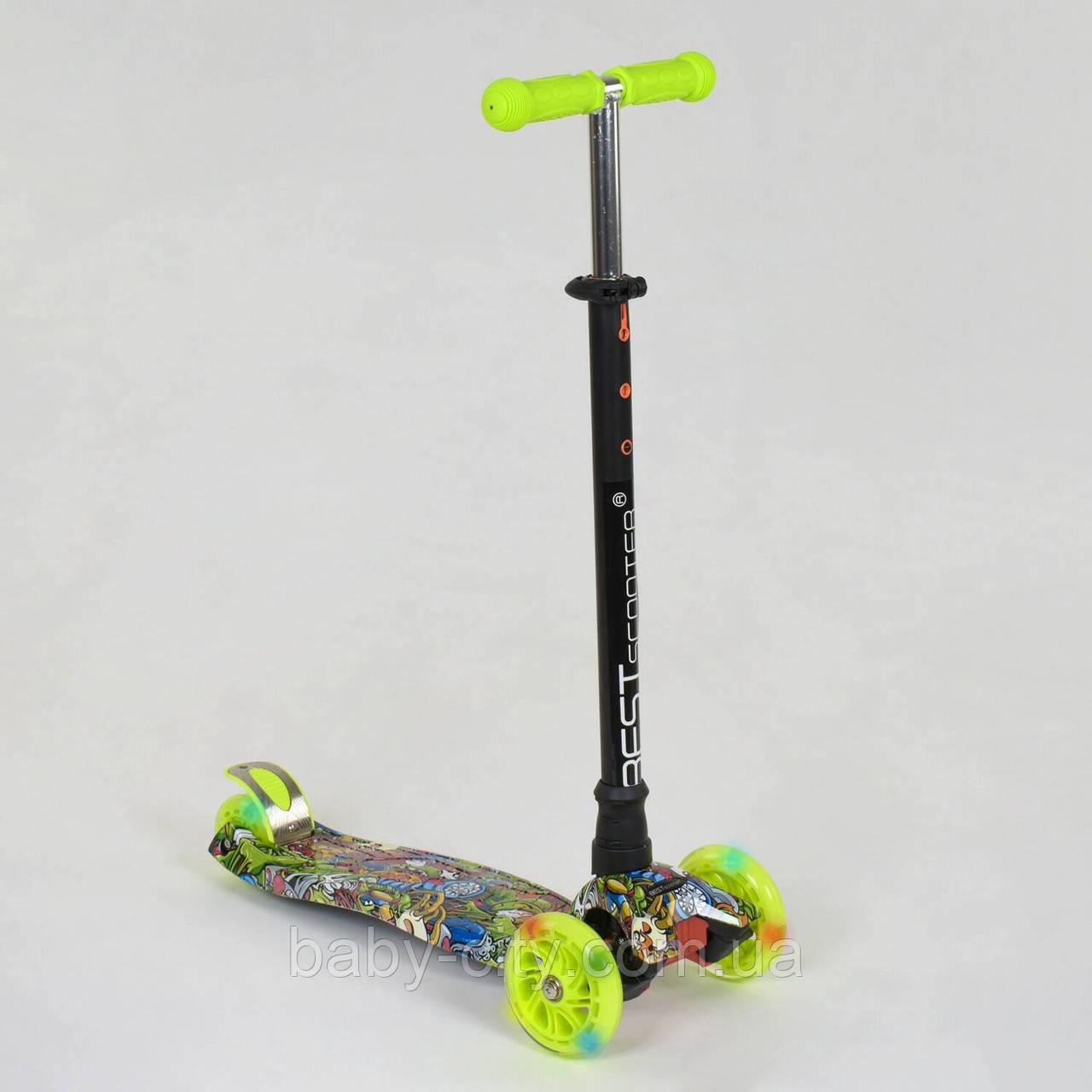 Самокат-кикборд Best Scooter А 24647 /779-1391