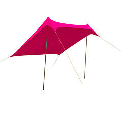 Тент пляжный розовый GreenCamp 1046